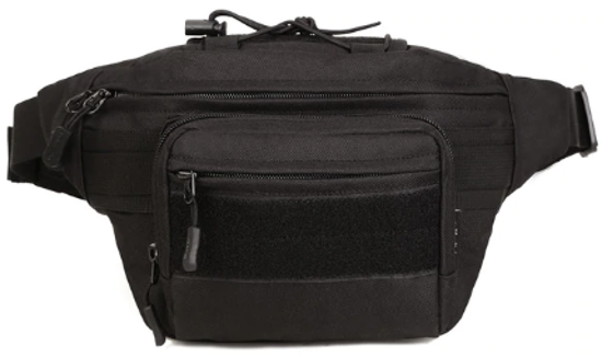 Picture of Outdoor Tactical Multifunction Waist Pack - Black