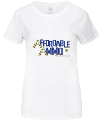 Women's Affordable Ammo Classic T-shirt - White